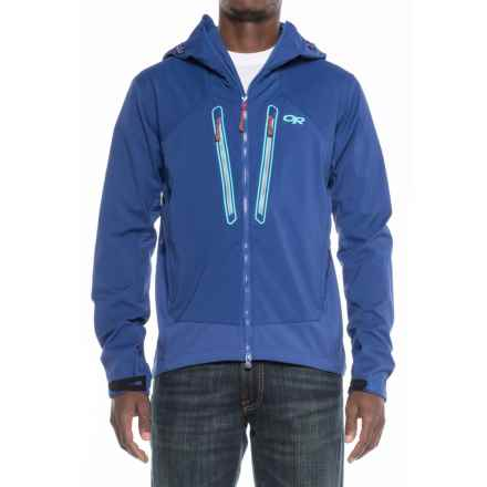 Outdoor Research Iceline Jacket - Waterproof (For Men) in Baltic/Typhoon - Closeouts