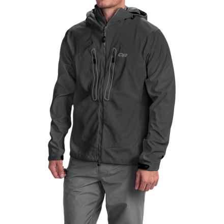 Outdoor Research Iceline Jacket - Waterproof (For Men) in Black - Closeouts
