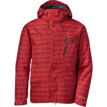 Outdoor Research Igneo Jacket - Waterproof, Insulated (For Men) in Hot Sauce Print - Closeouts
