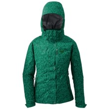 Outdoor Research Igneo Jacket - Waterproof, Insulated (For Women) in 745 Emerald - Closeouts