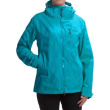 Outdoor Research Igneo Jacket - Waterproof, Insulated (For Women) in Alpine Print - Closeouts