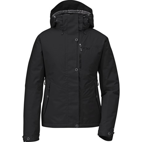 Outdoor Research Igneo Jacket - Waterproof, Insulated (For Women) in Black