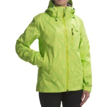 Outdoor Research Igneo Jacket - Waterproof, Insulated (For Women) in Laurel Print - Closeouts