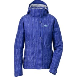 Outdoor Research Igneo Jacket - Waterproof, Insulated (For Women) in Sky/Espresso
