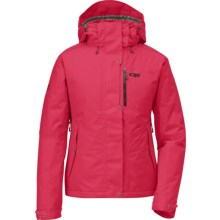 Outdoor Research Igneo Jacket - Waterproof, Insulated (For Women) in Trillium - Closeouts