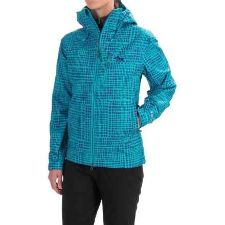 Outdoor Research Igneo Jacket - Waterproof, Insulated (For Women) in Typhoon - Closeouts