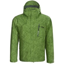 Outdoor Research Igneo Shell Jacket - Waterproof (For Men) in Leaf - Closeouts
