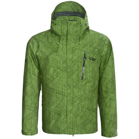 Outdoor Research Igneo Shell Jacket - Waterproof (For Men) in Leaf