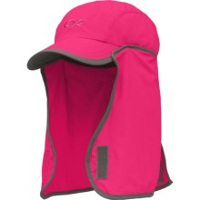Outdoor Research Insect Shield® Gnat Hat - UPF 30 (For Kids) in Desert Sunrise/Dark Grey - Closeouts