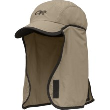 Outdoor Research Insect Shield® Gnat Hat - UPF 30 (For Kids) in Khaki/Dark Grey - Closeouts