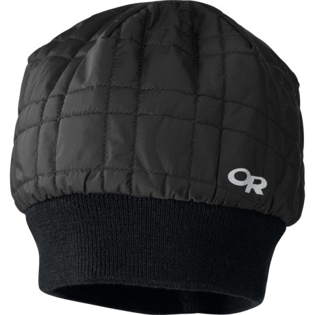 Outdoor Research Inversion Beanie Hat Merino Wool Lining, Insulated (For Men and Women)