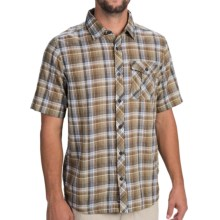 Outdoor Research Jinx Shirt - Short Sleeve (For Men) in Cafe - Closeouts