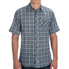 Outdoor Research Jinx Shirt - Short Sleeve (For Men) in Dusk/Hops - Closeouts