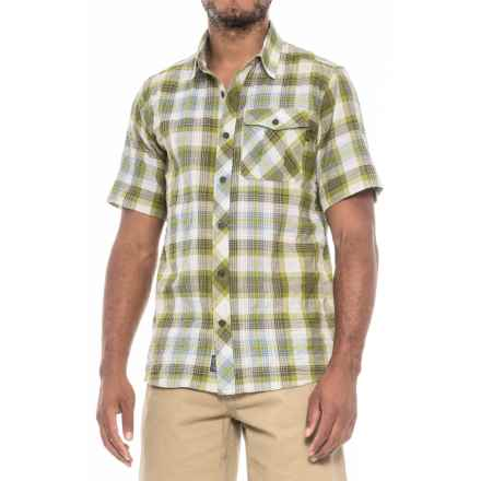 Outdoor Research Jinx Shirt - Short Sleeve (For Men) in Hops - Closeouts