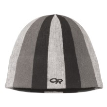 Outdoor Research Joker Windstopper® Beanie Hat (For Kids) in Black/Silver - Closeouts