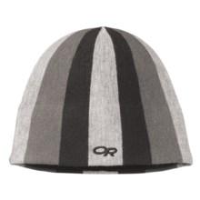 Outdoor Research Joker Windstopper® Beanie Hat (For Kids) in Black/Silver - Closeouts