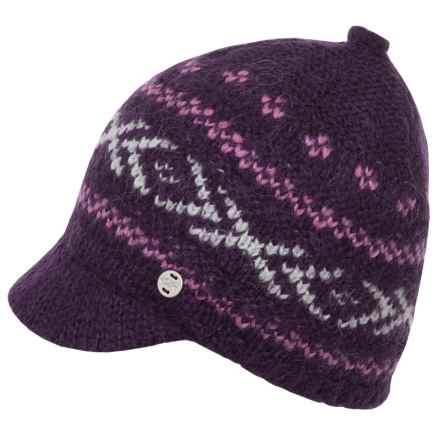 Outdoor Research Karia Brimmed Beanie (For Women) in Elderberry - Closeouts