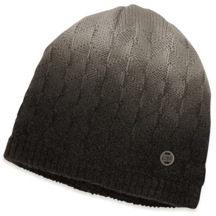 d231ccc53a478 Outdoor Research Kirsti Beanie (For Women) in Black/Alloy - Closeouts