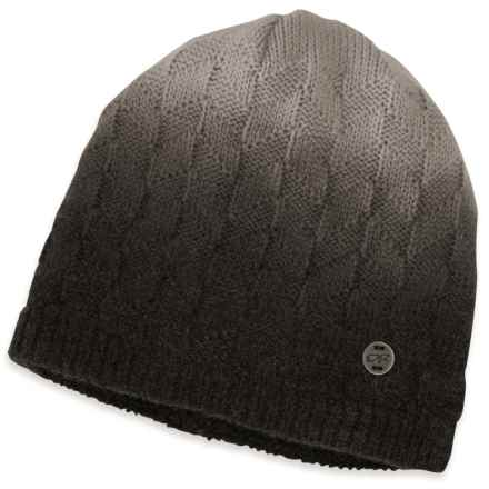 Outdoor Research Kirsti Beanie (For Women) in Black/Alloy - Closeouts