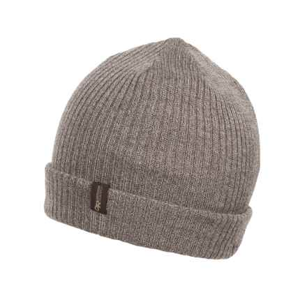 Outdoor Research Knotty Reversible Beanie - Merino Wool (For Men) in Walnut/Earth - Closeouts
