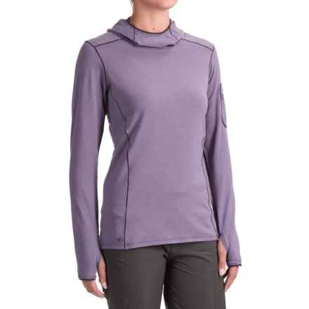 Outdoor Research La Paz Sun Hoodie - UPF 50+ (For Women) in Fig - Closeouts