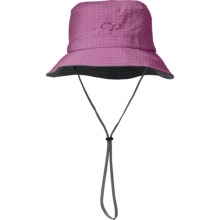 Outdoor Research Lightstorm Bucket Hat - Waterproof, UPF 30 (For Men and Women) in Crocus - Closeouts