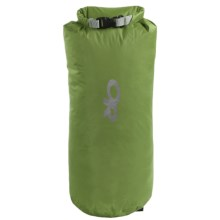Outdoor Research Lightweight Dry Sack - 15L, Waterproof in Leaf - Closeouts
