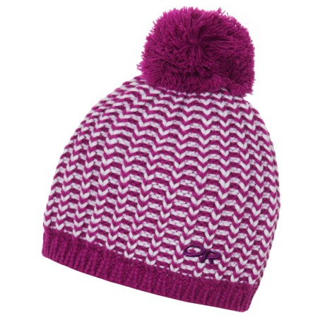 Outdoor Research Lil' Ripper Beanie - Fleece Lined (For Kids) in Ultraviolet/White