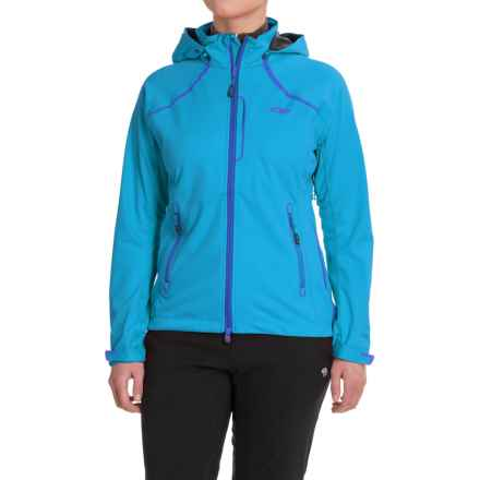 Outdoor Research Linchpin Hooded Jacket - Windstopper® (For Women) in Hydro - Closeouts