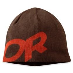 Outdoor Research Lingo Beanie Hat - Merino Wool (For Men and Women) in Earth/Diablo