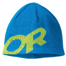 Outdoor Research Lingo Beanie Hat - Merino Wool (For Men and Women) in Hydro/Lemongrass - Closeouts