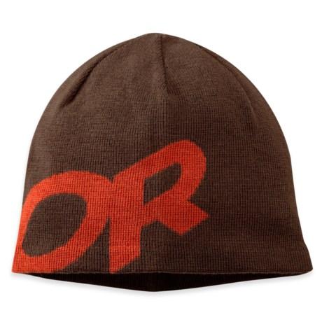 Outdoor Research Lingo Beanie - Merino Wool (For Men and Women) in Earth/Diablo