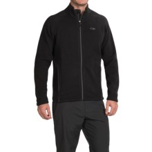 Outdoor Research Longhouse Fleece Jacket (For Men) in Black - Closeouts