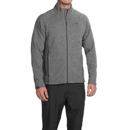 Outdoor Research Longhouse Fleece Jacket (For Men) in Pewter - Closeouts