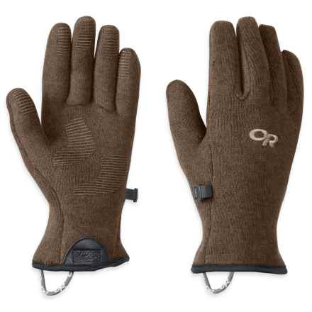 Outdoor Research Longhouse Gloves (For Women) in Earth - Closeouts