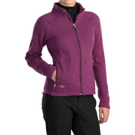 Outdoor Research Longhouse Jacket (For Women) in Orchid - Closeouts
