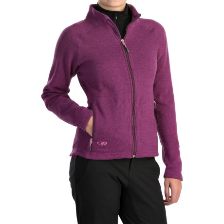Outdoor Research Longhouse Jacket (For Women) in Orchid