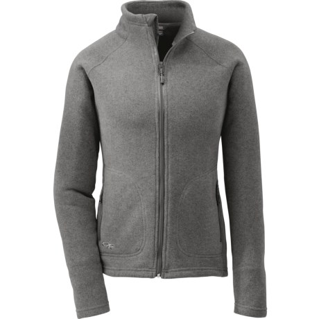 Outdoor Research Longhouse Jacket (For Women) in Pewter