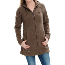 Outdoor Research Longitude Fleece Hoodie Jacket (For Women) in Earth/Dark Earth - Closeouts