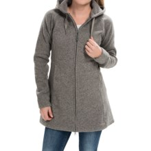 Outdoor Research Longitude Fleece Hoodie Jacket (For Women) in Pewter - Closeouts
