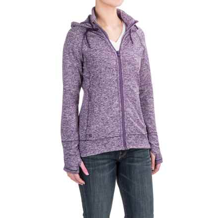 Outdoor Research Melody Hoodie - Full Zip (For Women) in Elderberry - Closeouts