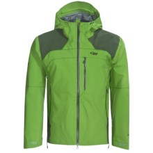 Outdoor Research Mentor Gore-Tex® Pro Shell Jacket - Waterproof (For Men) in Leaf/Evergreen - Closeouts