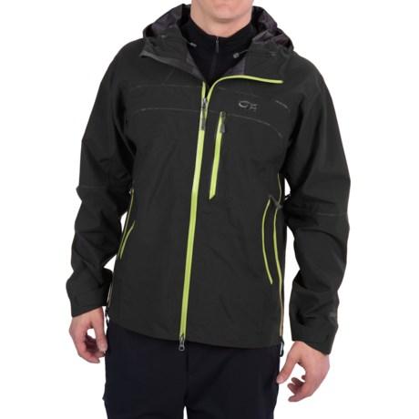 Outdoor Research Mentor Jacket - Waterproof (For Men) in Black