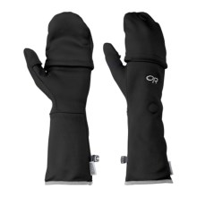 Outdoor Research Metamorph Gloves (For Men and Women) in Black - Closeouts