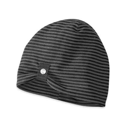 Outdoor Research Mikala Beanie (For Women) in Black/Pewter - Closeouts
