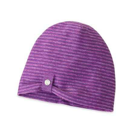 Outdoor Research Mikala Beanie (For Women) in Elderberry/Wisteria - Closeouts