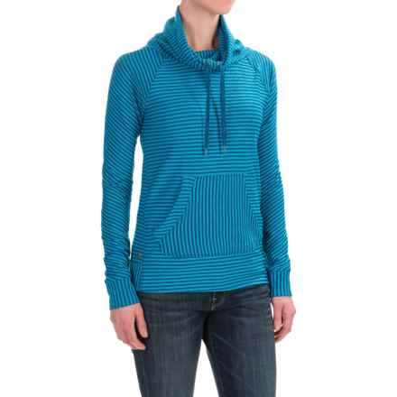 Outdoor Research Mikala Shirt - Long Sleeve (For Women) in Baltic/Typhoon - Closeouts