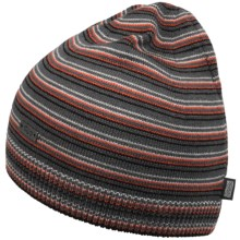 Outdoor Research Minigauge Beanie Hat - Merino Wool (For Men and Women) in Pewter/Ember - Closeouts