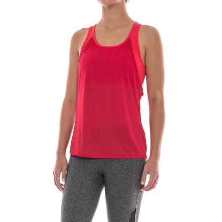 Outdoor Research Mirage Tank Top - Built-In Bra, Split Back (For Women) in Flame/Scarlet - Closeouts