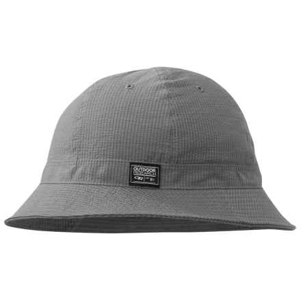 Outdoor Research Misconduct Bucket Hat (For Men and Women) in Pewter - Closeouts